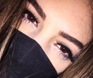 beautiful girl, brown, and brown eyes image