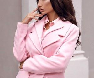 chic, coat, and fashion image