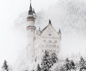 dreamy, magic, and snow image