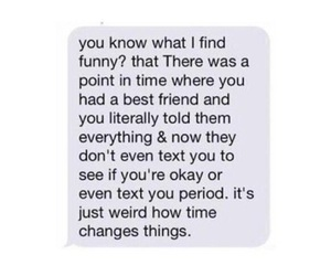 sad, quotes, and best friends image