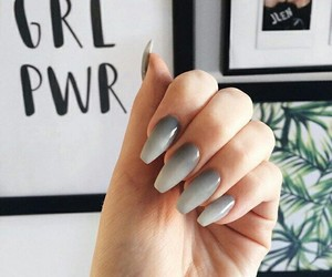 nails, luxury, and makeup image