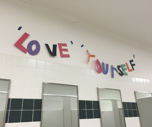 love, tumblr, and love yourself image