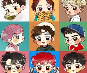 489 Images About Exo Fanart Chibi Anime On We Heart It See More
