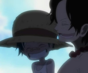 anime, one piece, and ace image
