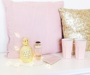 pink, decor, and girly image