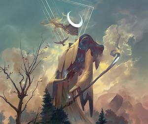 angel, fantasy, and god image
