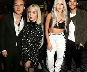 1d, louis tomlinson, and gemma styles image