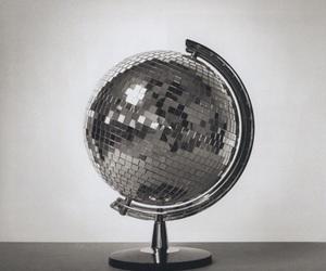 globe, disco, and disco ball image