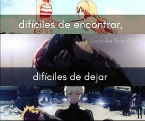 anime, frases, and pensamientos image