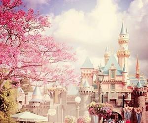 розовый, небо, and мечта image