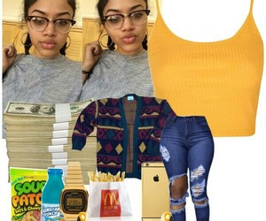 Polyvore, drippy, and chenellebeentrill image