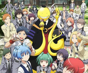 assassination classroom, anime, and korosensei image