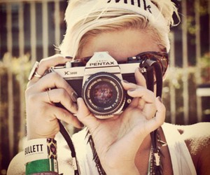 photography, beautiful, and blonde image