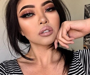 beauty, flawless, and makeup image