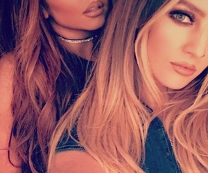 leigh-anne, liam payne, and jesy nelson image