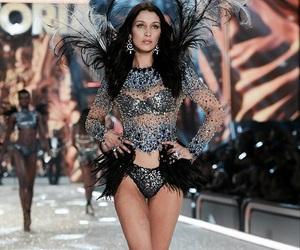 bella hadid, model, and Victoria's Secret image