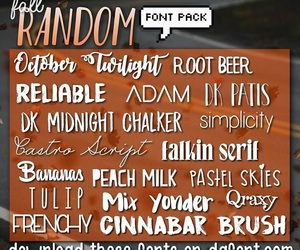 fonts, font pack, and font packs image