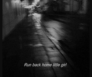 run, grunge, and sad image