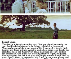 forrest gump, love, and movie image