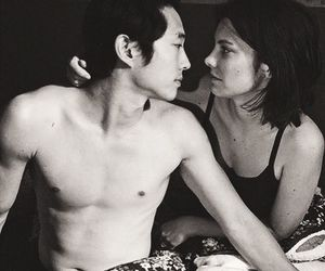 couple, tv show, and maggie greene image