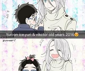 victor, yuuri, and yuri & victor image