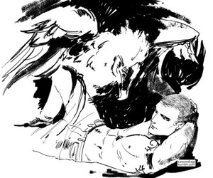 maggie stiefvater, cassandra jean, and the raven boys image