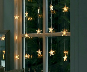 stars, light, and christmas image