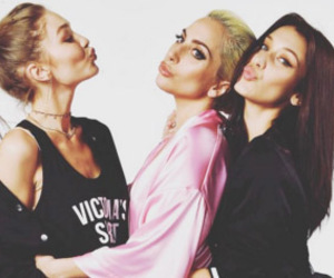 Lady gaga, gigi hadid, and Victoria's Secret image