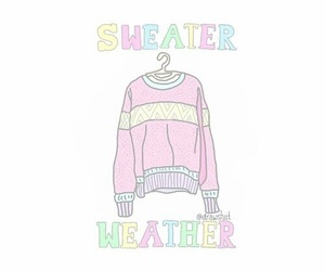 overlay and sweater weather image