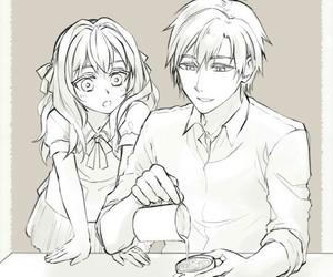 shinoa hiragi and shinya hiragi image