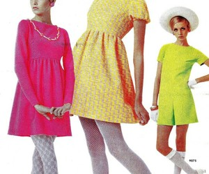 60s and 60s fashion image