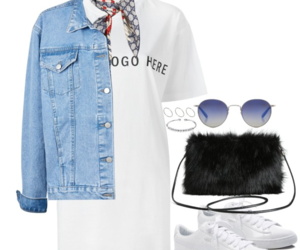 bag, blue, and bracelet image