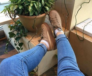levis, shoes, and pumas image