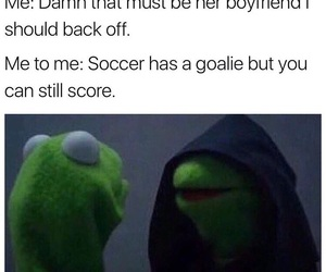 funny, kermit meme, and tumblr image