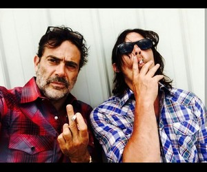 norman reedus, the walking dead, and negan image