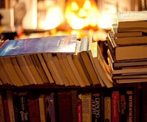 books, autumn, and fall image