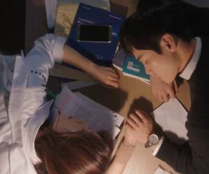 couple, hands, and Korean Drama image