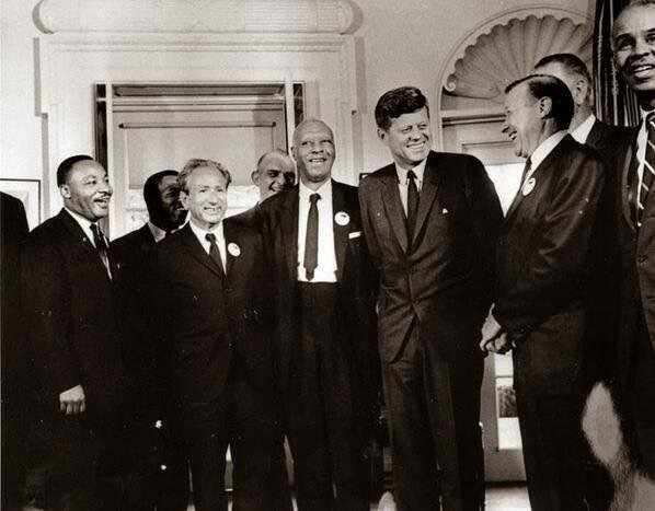 history, kennedy, and luther king image