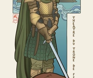 game of thrones, art, and brienne of tarth image