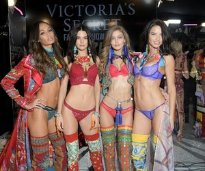 kendall jenner, Adriana Lima, and model image