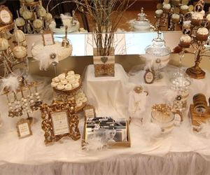 wedding, candy table, and candy tables image
