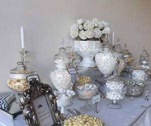 wedding, wedding ideas, and candy table image