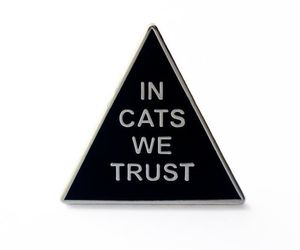 in cats we trust image