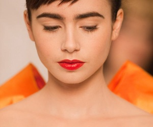 lily collins, snow white, and beautiful image