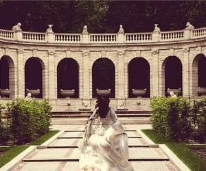 beauty, courtyard, and fairytale image