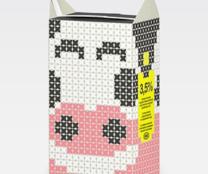 milk, packaging, and design image