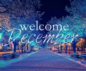 december, welcome, and winter image