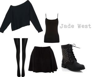 black, diy, and moda image