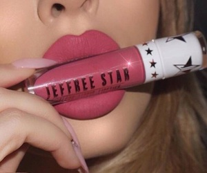 jeffree star cosmetics, velour liquid lipstick, and rose matter image