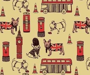 london, dog, and wallpaper image